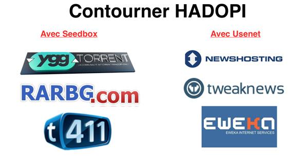 Contourner HADOPI Seedbox Usenet