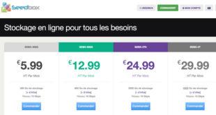 Seedbox.fr hébergements classiques