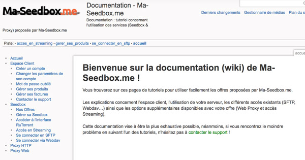 Documentation Ma-seedbox.me