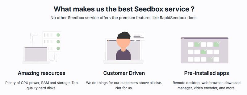 Pourquoi choisir RapidSeedbox